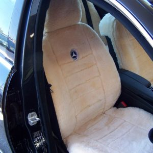 All Over Sheepskin Front Pair Custom Made Sheepskin Seat Cover
