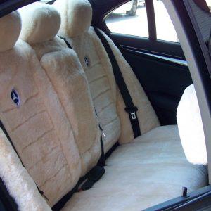 All Over Sheepskin Rear Or 3rd Row Custom Made-Mercedes
