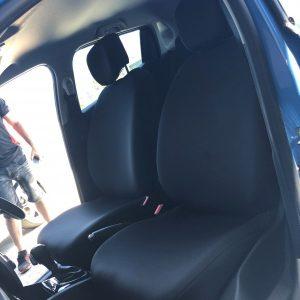 Denim Seat Cover Front Pair Custom Made