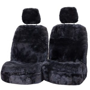 Platinum 35MM Size 30 With Separate Head Rests 6 Star Airbag Compatible Gunmetal