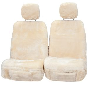 Platinum 35MM Size 30 With Separate Head Rests 6 Star Airbag Compatible Off White