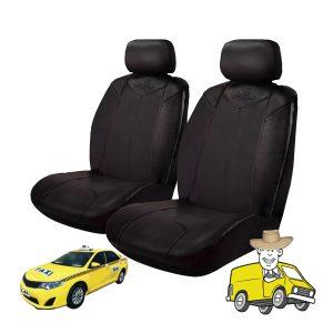 Black Bull Heavy Duty Vinyl Car Seat Cover to Suit Toyota ASV50R