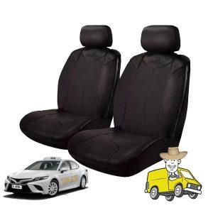 Black Bull Heavy Duty Vinyl Car Seat Cover to Suit Toyota ASV70R