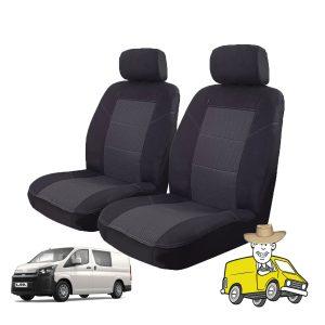 Esteem Fabric Seat Cover to Suit Toyota Hiace 2019