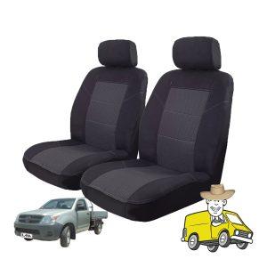 Esteem Fabric Seat Cover to Suit Toyota Hilux Single Cab 2005