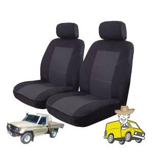 Esteem Fabric Seat Cover to Suit Toyota Landcruiser Single Cab HJ80