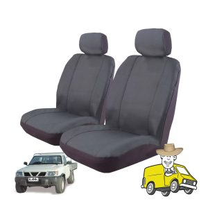 Outback Canvas Seat Cover to Suit Nissan Patrol Single Cab GU DX