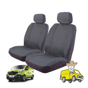 Outback Canvas Seat Cover to Suit Renualt Traffic Van X82