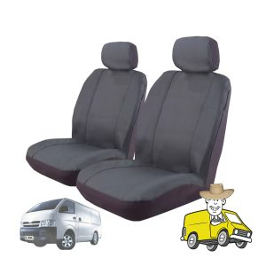 Outback Canvas Seat Cover to Suit Toyota Hiace Van 2005