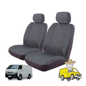 Outback Canvas Seat Cover to Suit Toyota Hiace Van 2014