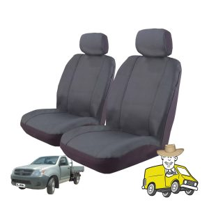 Outback Canvas Seat Cover to Suit Toyota Hilux Single Cab Workmate SR 2005