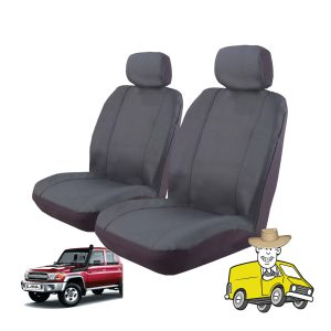 Outback Canvas Seat Cover to Suit Toyota Landcruiser VDJ76R Wagon