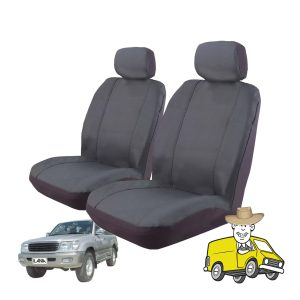Outback Canvas Seat Cover to Suit Toyota Landcruiser Wagon 100 Series GXV GXL VX