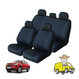 Velocity Neoprene Seat Cover to Suit Holden Colorado Crew Cab RG