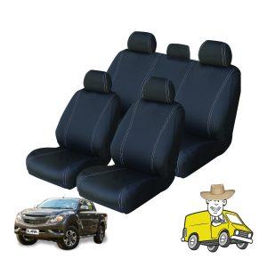 Velocity Neoprene Seat Cover to Suit Mazda BT50 Dual Cab UR