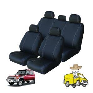 Velocity Neoprene Seat Cover to Suit Toyota Landcruiser VDJ76R Wagon
