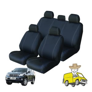 Velocity Neoprene Seat Cover to Suit Toyota Prado Wagon 150 Series