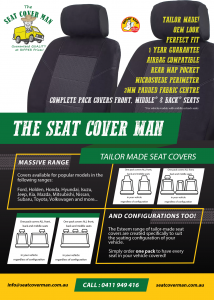 Esteem Tailor-made Fabric Car Seat Covers by The Seat Cover Man